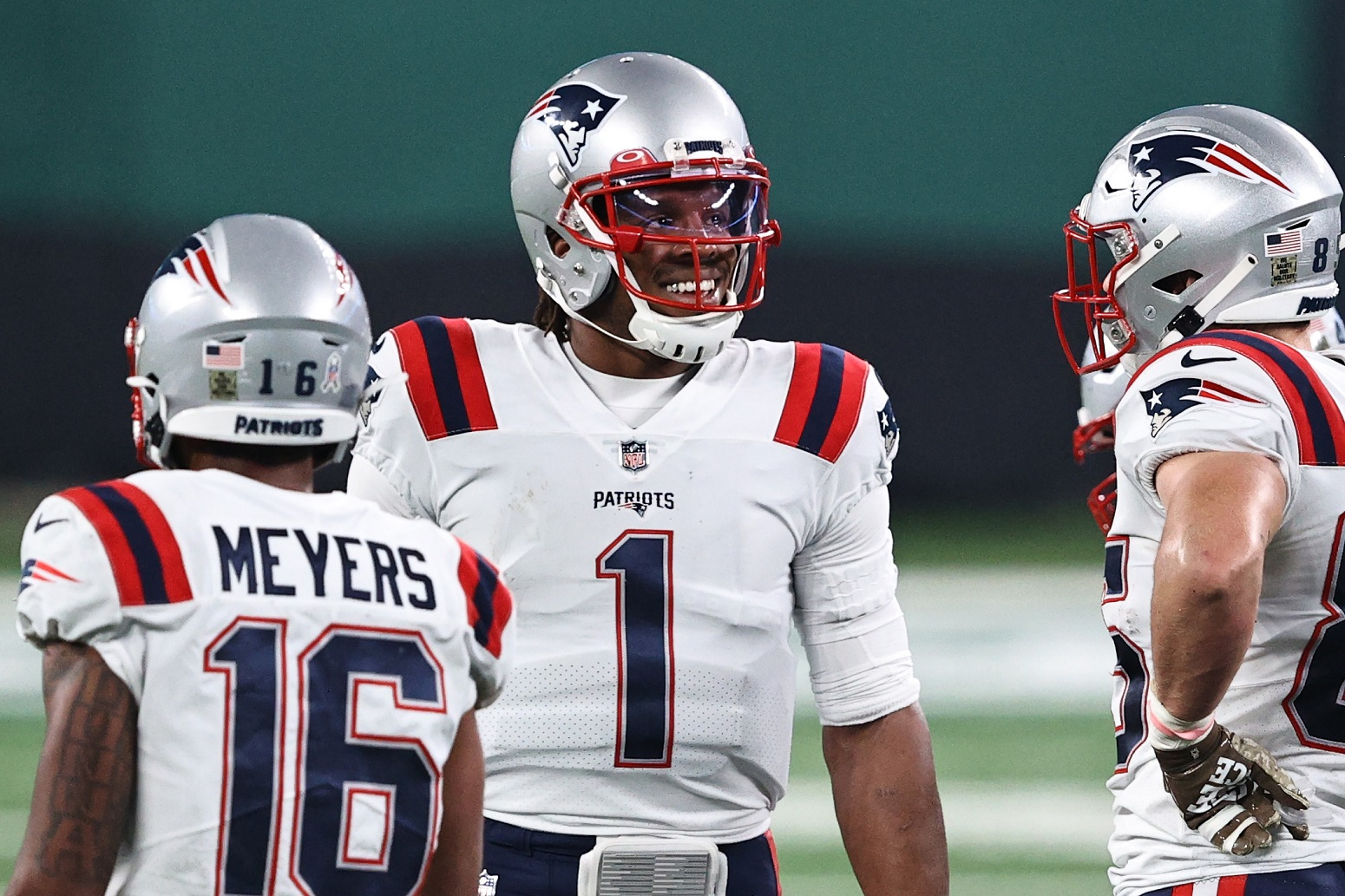 Cam Newton Can't Stop Raving About His New No.1 Target