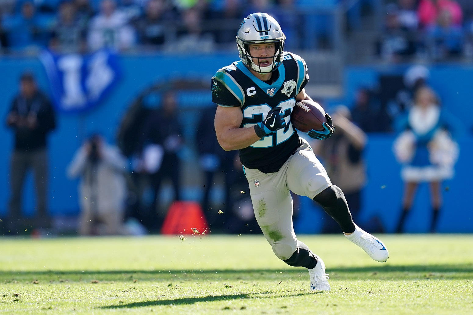 Christian McCaffrey Carolina Panthers impressive feat