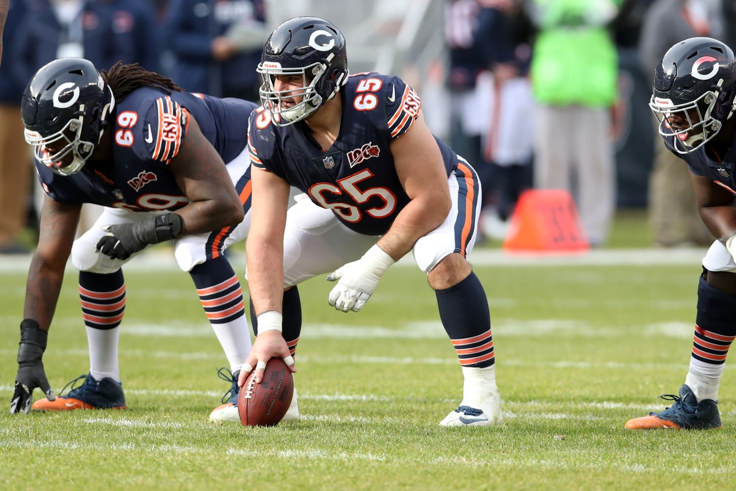 The Chicago Bears just lost Cody Whitehair to COVID-19. Can the team get back on track against the Tennessee Titans on Sunday?