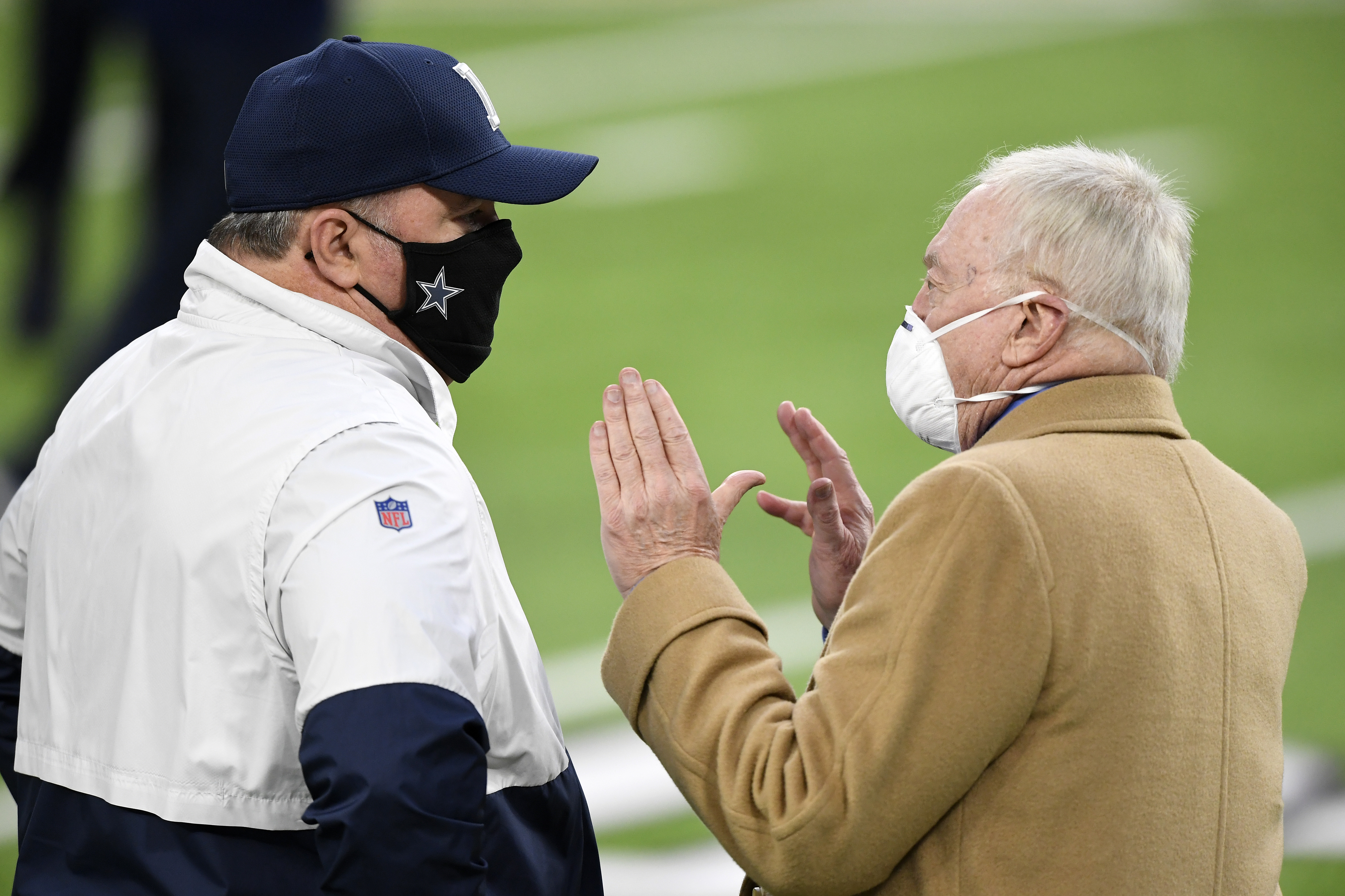 Cowboys' Mike McCarthy and Jerry Jones