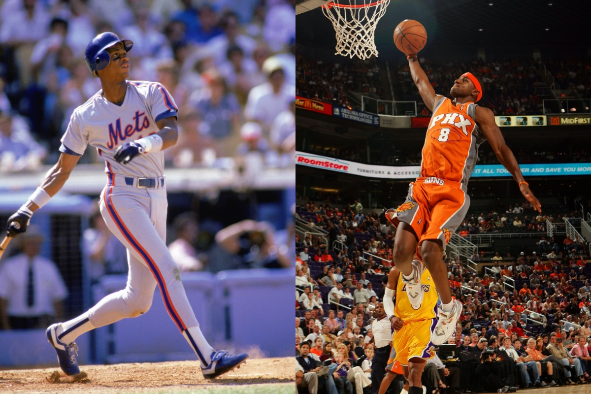 Former MLB All-Star outfielder Darryl Strawberry is an all-time Mets great. His son, D.J. Strawberry, played alongside Shaquille O'Neal in Phoenix.