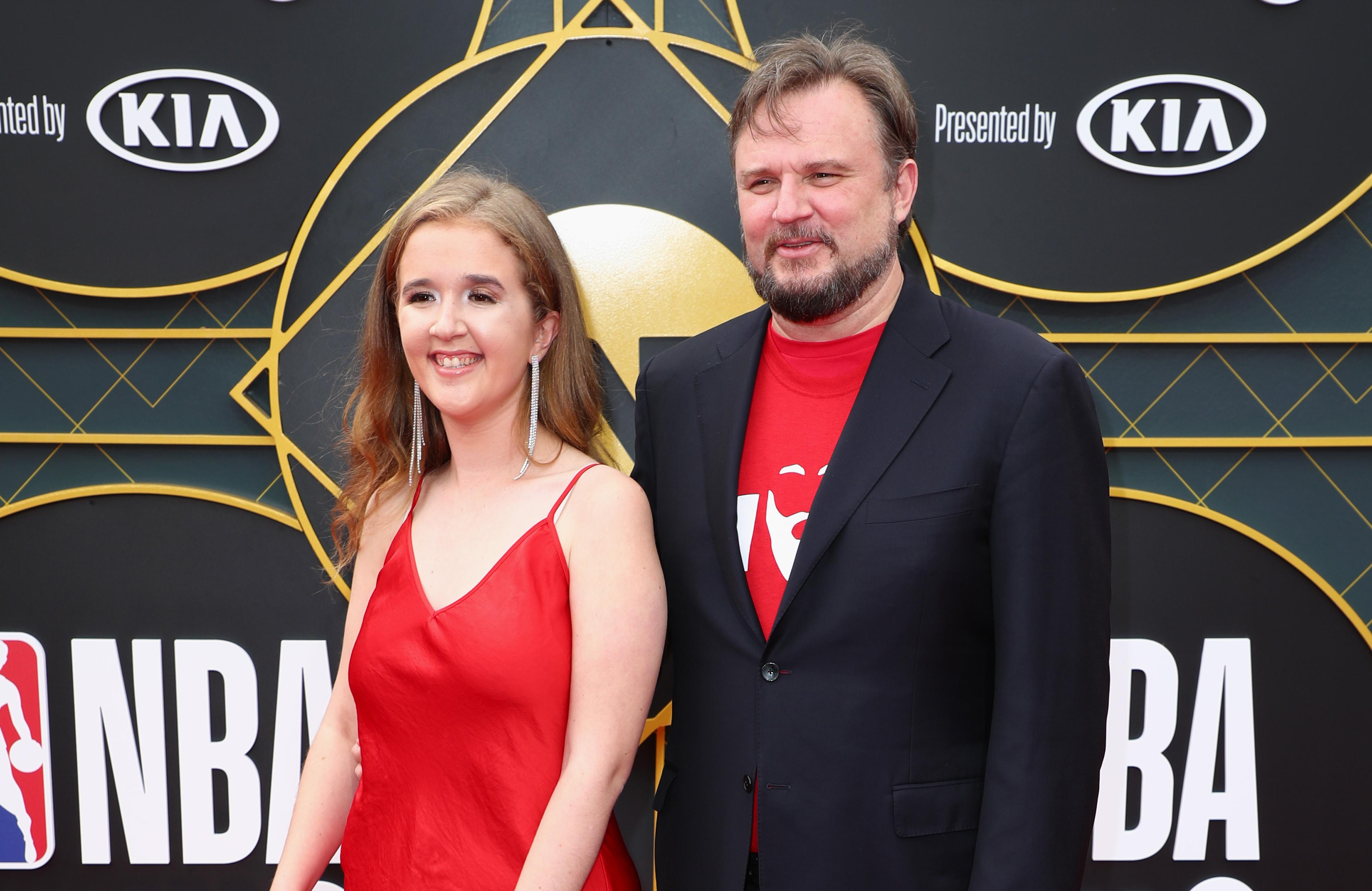 Ellen Morey and Daryl Morey attend the 2019 NBA Awards
