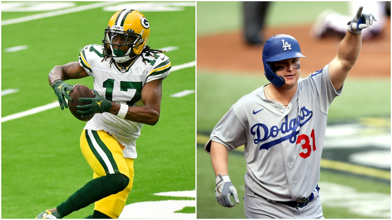 Packers Star Davante Adams Was The Second Best Wide Receiver On His High School Team Behind A Guy Who Just Won A World Series