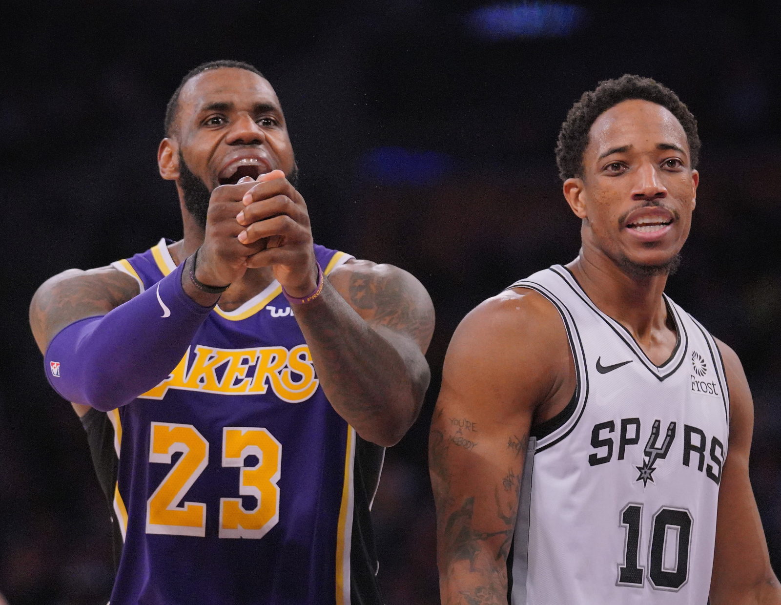 There have been recent rumors that the Lakers could be interested in trading for DeMar DeRozan. So, how does DeRozan feel about those rumors?