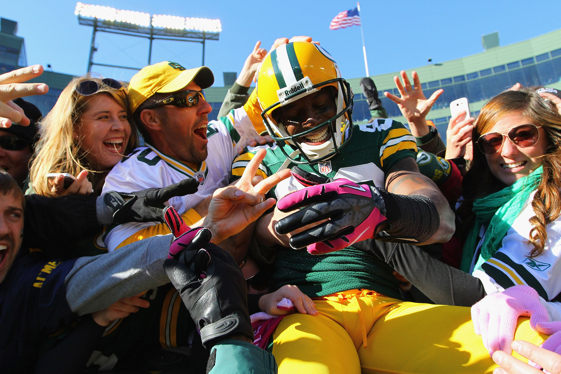 Where is former Green Bay Packers receiver Donald Driver today?