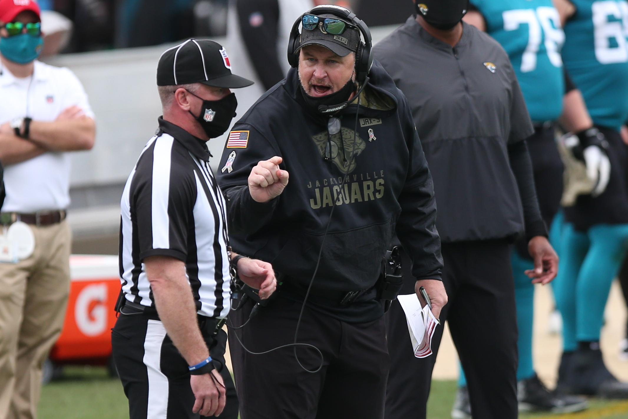 Doug Marrone once had the Jacksonville Jaguars a few minutes shy of reaching the Super Bowl. Now, Marrone leads our Week 10 NFL hot seat rankings.