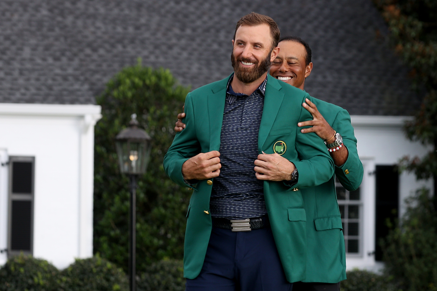 Dustin Johnson and Masters Ratings