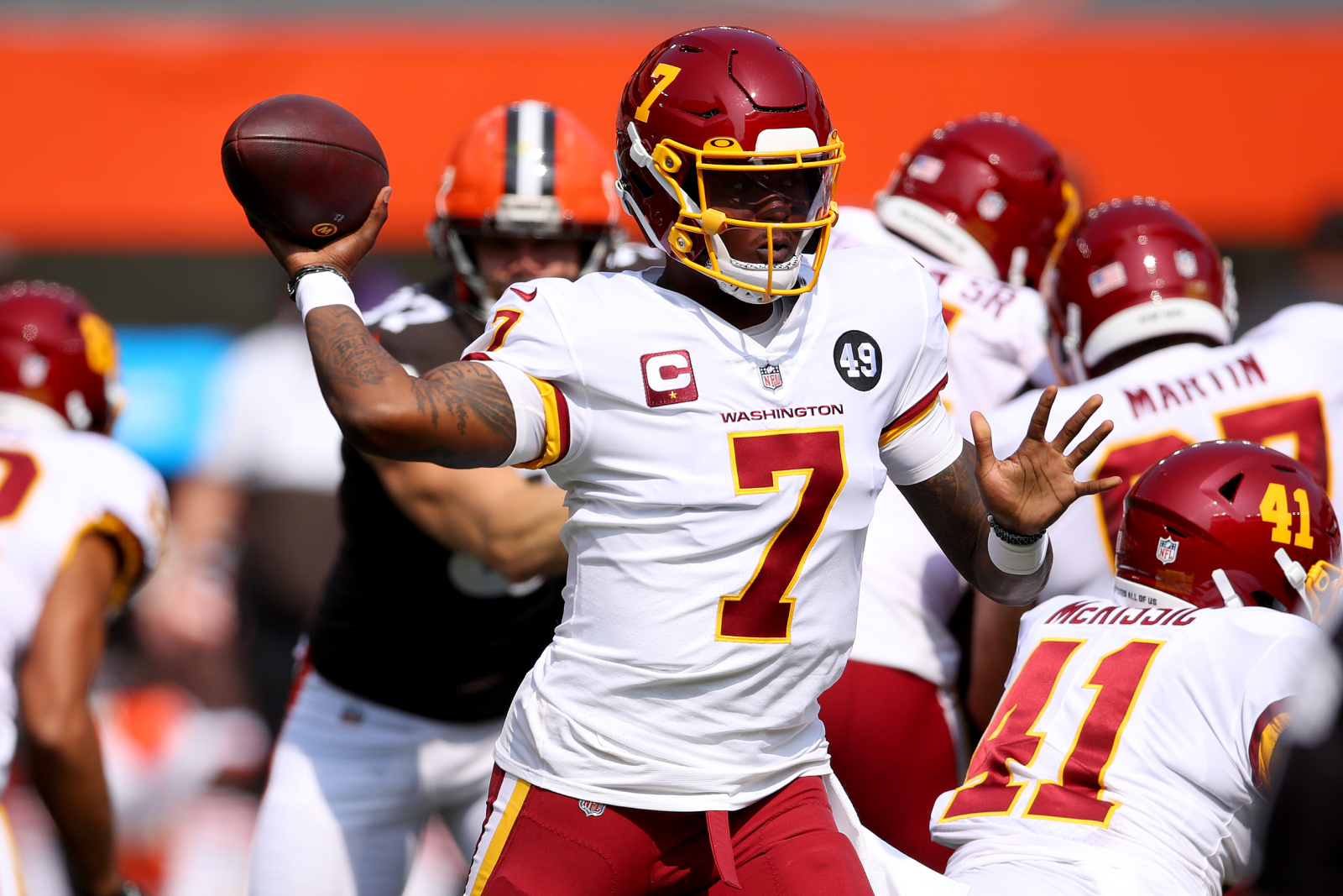The Washington Football Team has another QB controversy after Kyle Allen's injury. Ron Rivera has since revealed his plan for Dwayne Haskins.