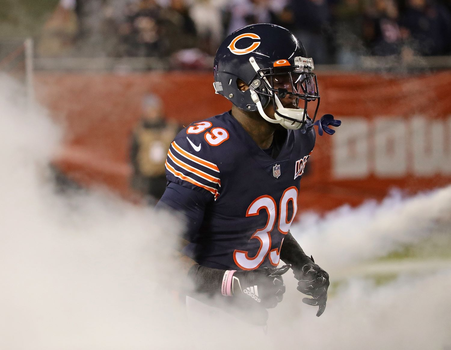 The Chicago Bears had to place star safety Eddie Jackson on the reserve/COVID-19 list on Monday.