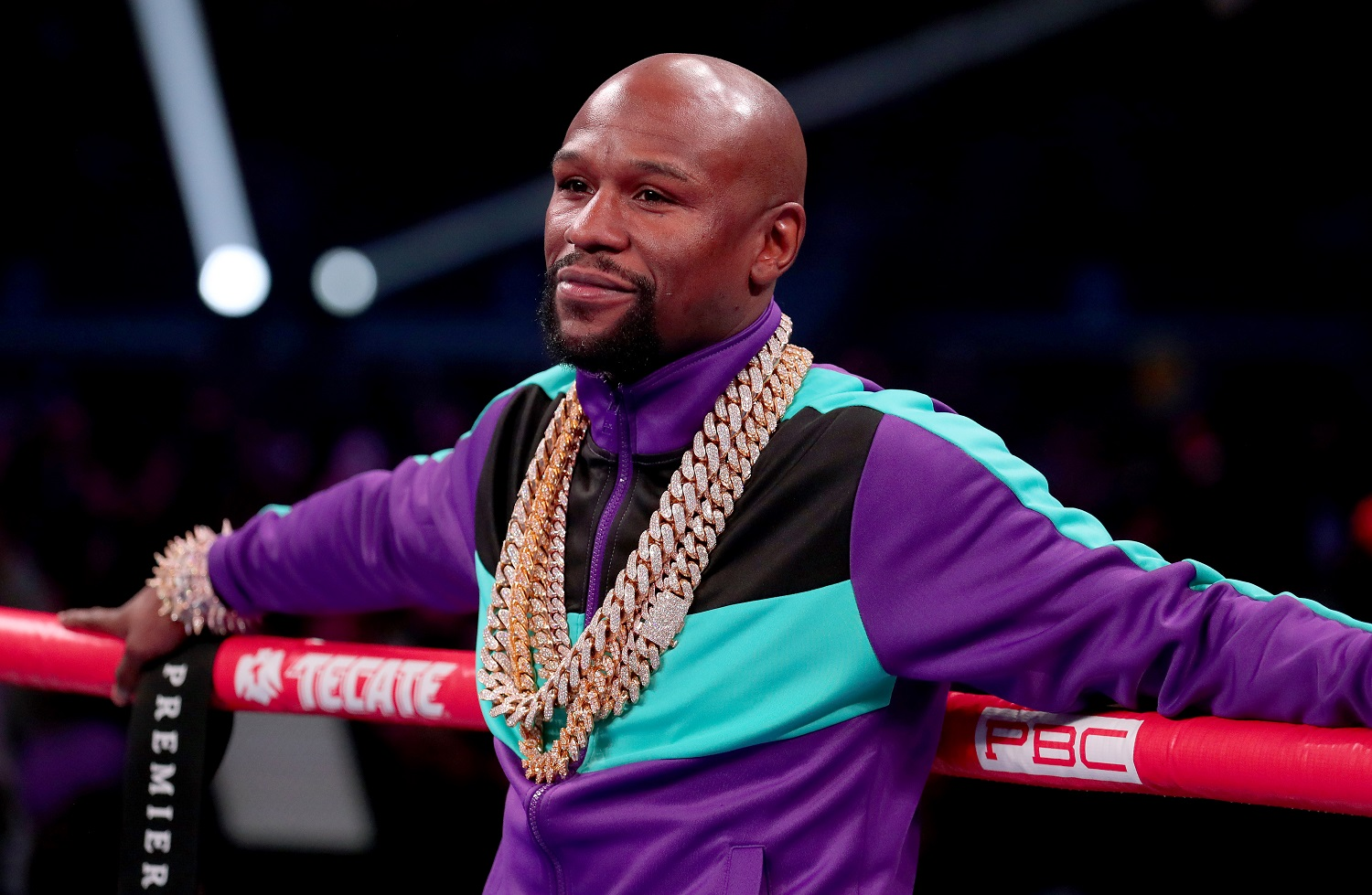 Floyd Mayweather Announces Comeback 'Fight' While Discussing Mike Tyson vs. Roy Jones Jr.