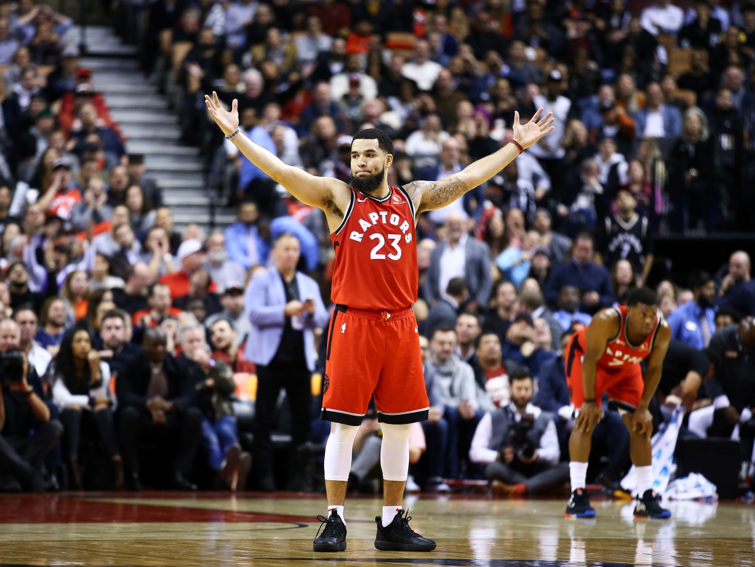 Fred VanVleet etches his name in NBA history books by agreeing to sign an $85 million contract extension with the Toronto Raptors.