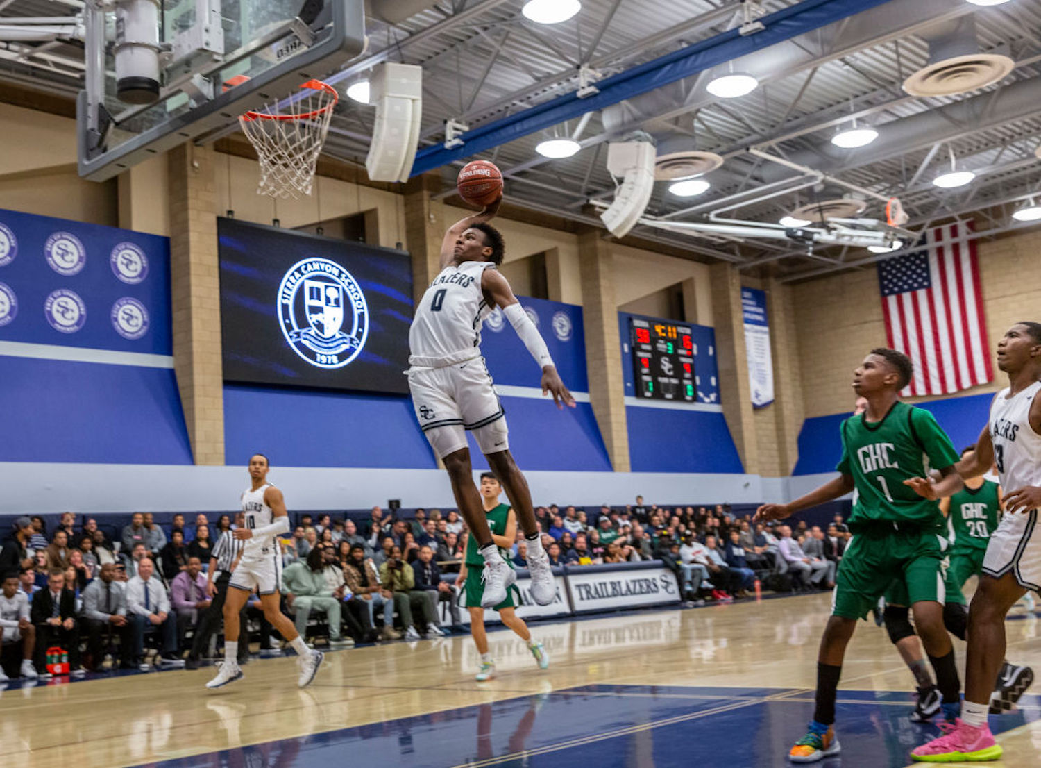 LeBron James' son, Bronny, is a highly touted high school basketball recruit, but when will he be able to enter the NBA draft?
