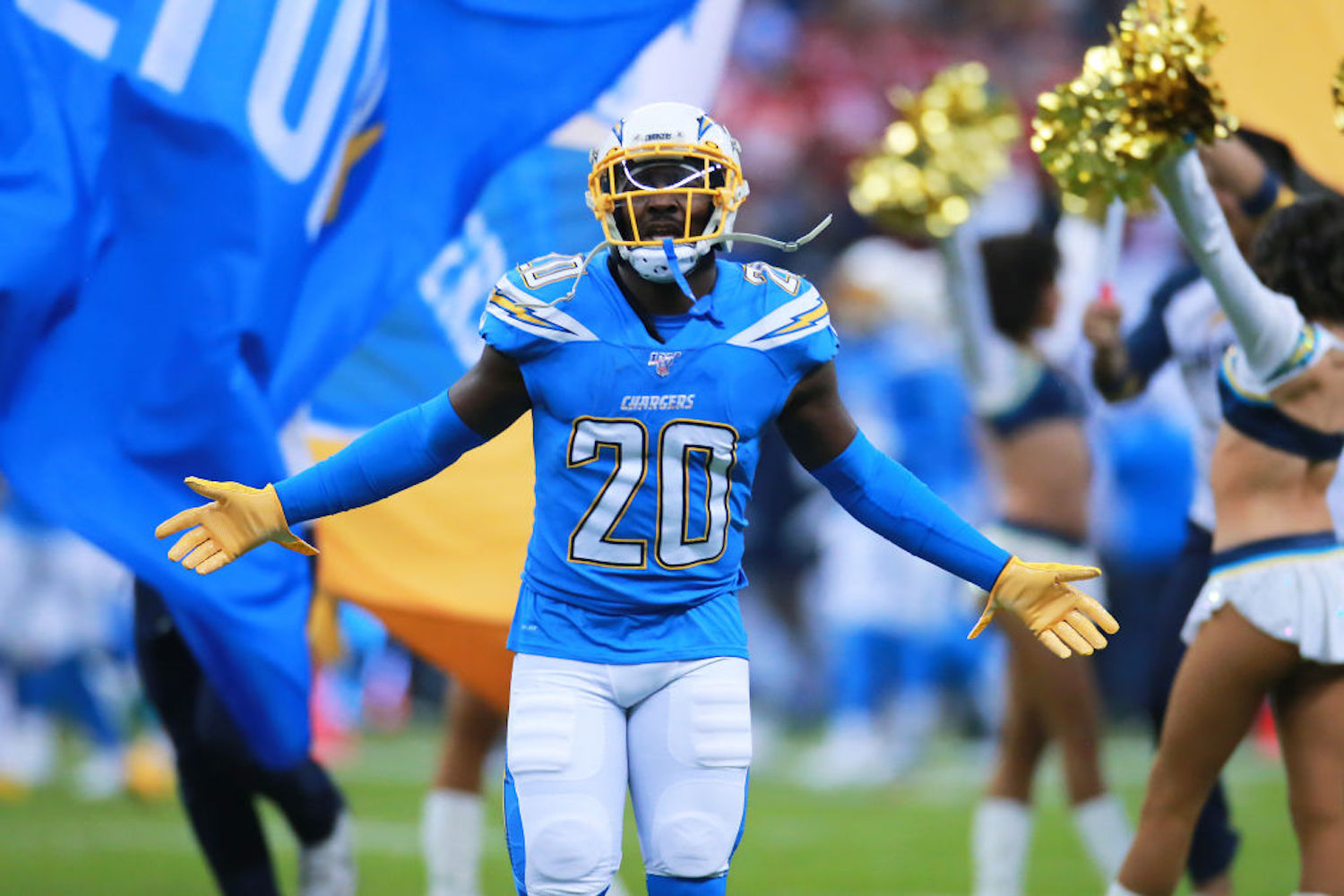 Desmond King was named an All-Pro just two years ago, but the LA Chargers just dealt him to the Tennessee Titans ahead of the trade deadline.
