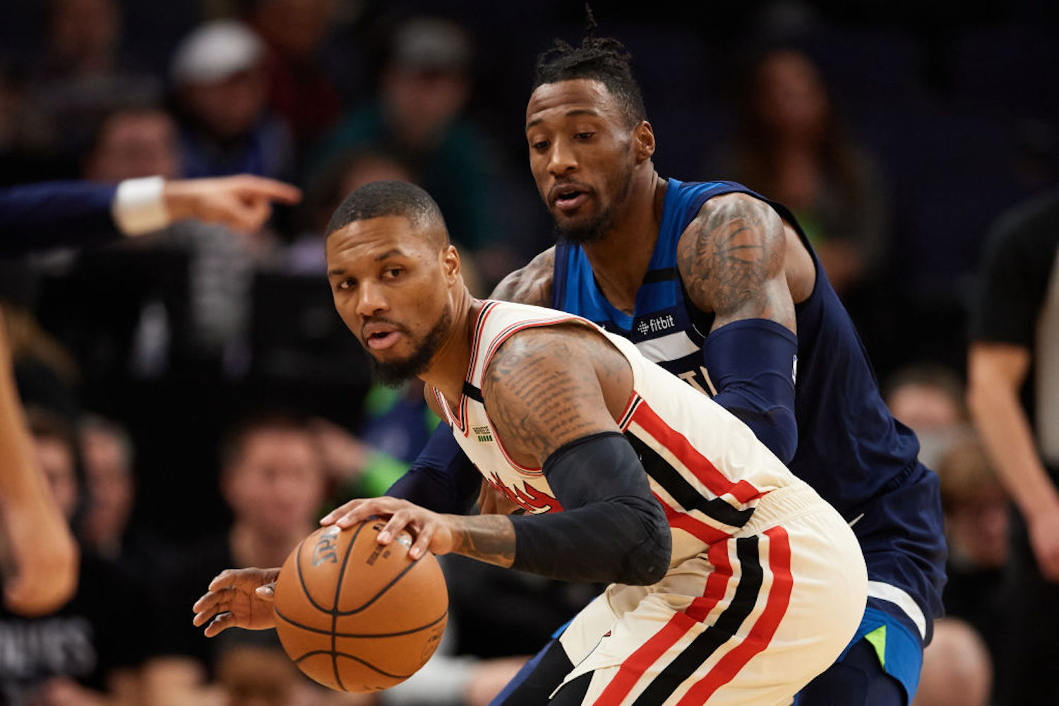 The Trail Blazers haven't surrounded Damian Lillard with enough help recently, but Robert Covington will make them a title contender.