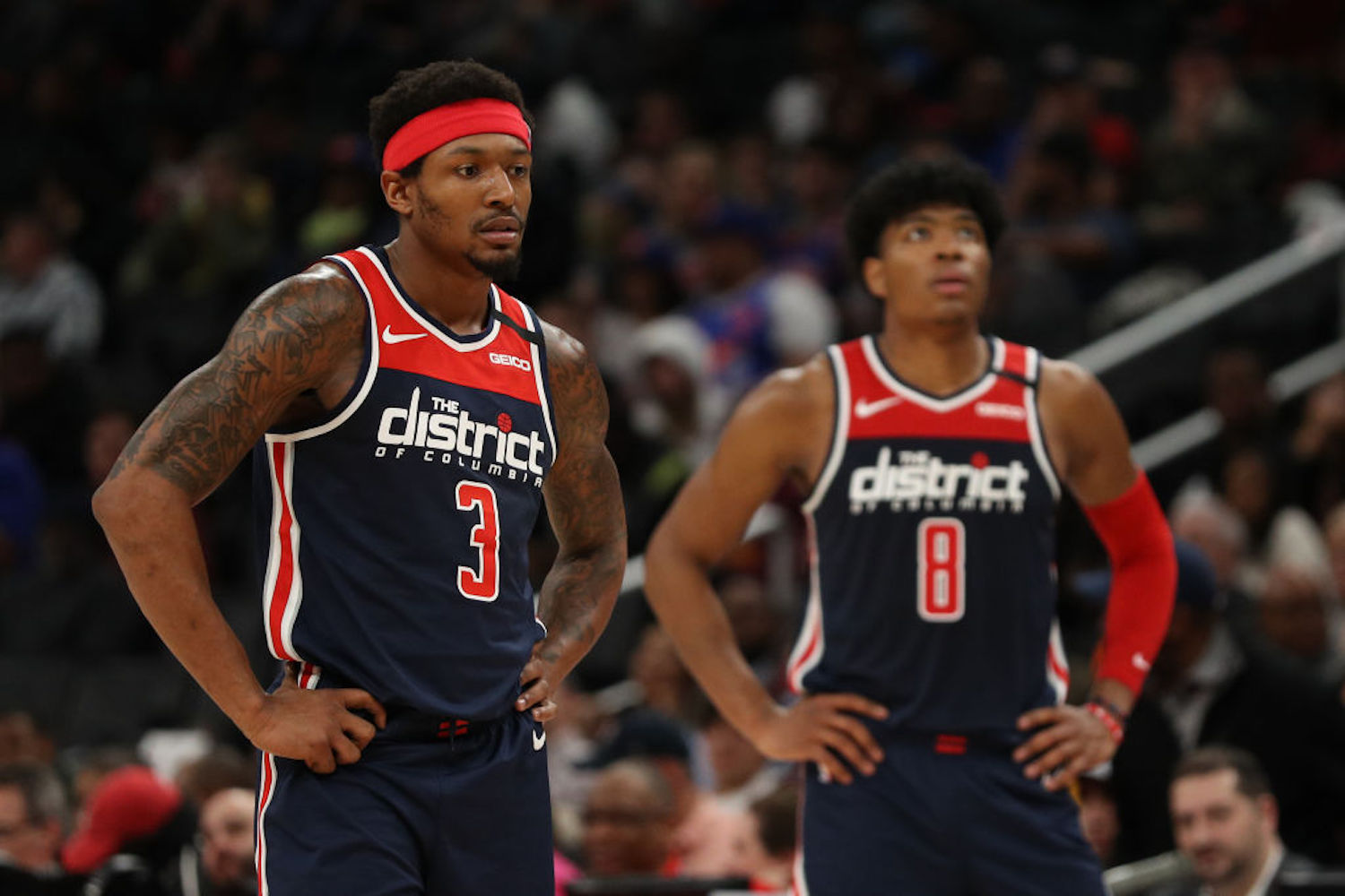 Bradley Beal was the most coveted trade asset this offseason, but more superstars landing on the trading block spells trouble for Beal and the Wizards.