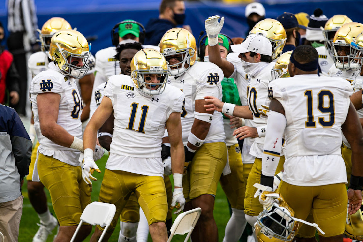 Notre Dame faces off against Clemson on Saturday night in college football's game of the week. Do they have any chance to pull off the upset?