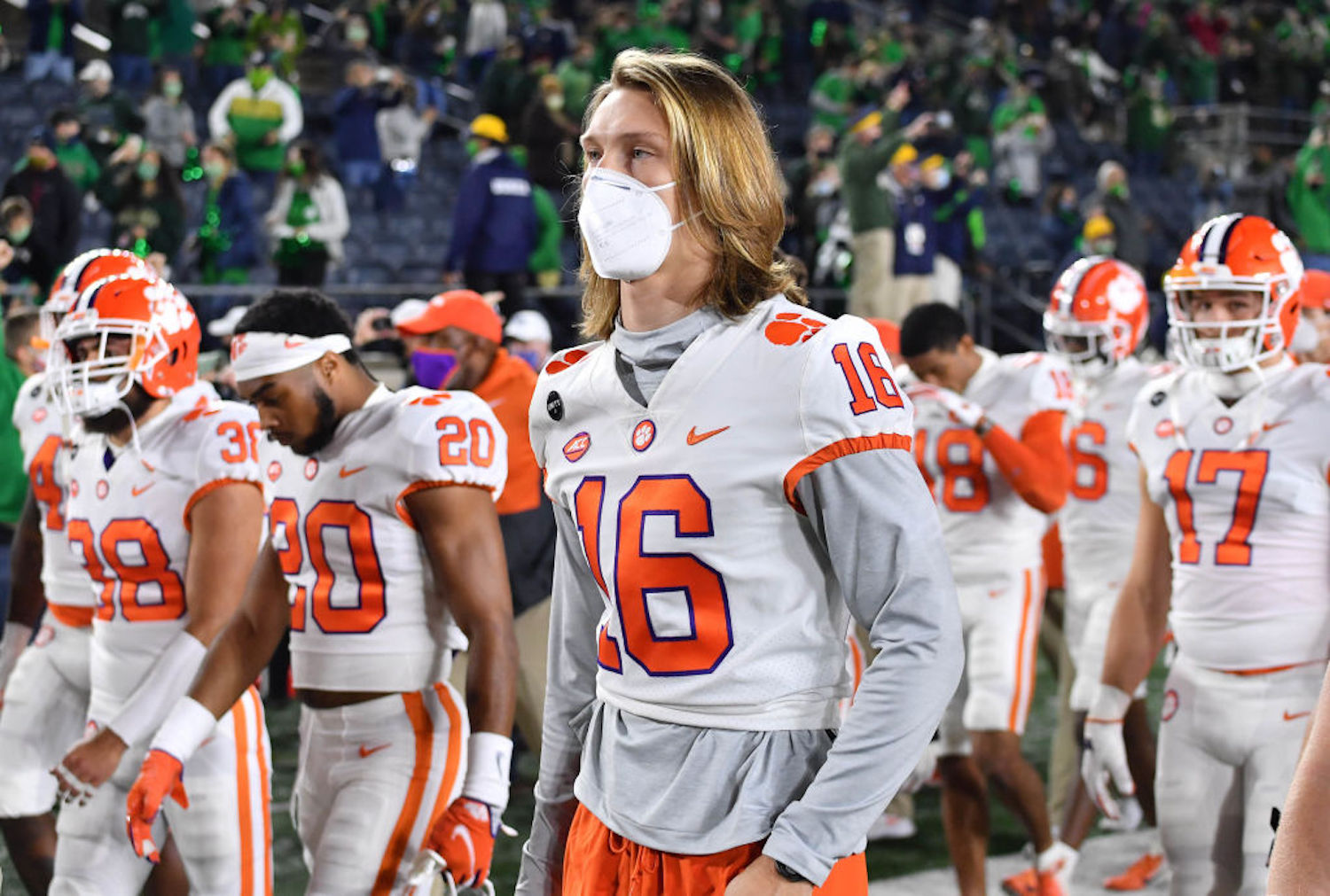 Clemson suffered a heartbreaking loss on Saturday night in South Bend, but they still have a path to the College Football Playoff in 2021.