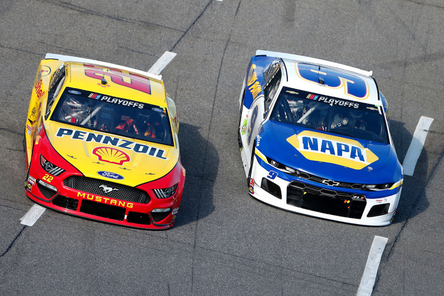 NASCAR's Championship 4 Race is set for this Sunday, and we could see some fireworks between Joey Logano and Chase Elliott.