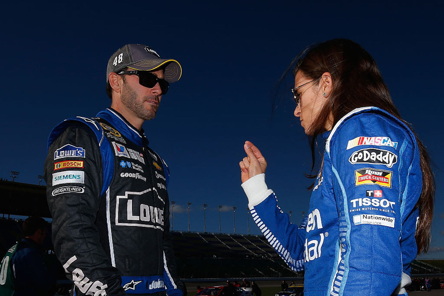 NASCAR legend Jimmie Johnson has announced his retirement from racing, but not before offering some wise advice to Danica Patrick.