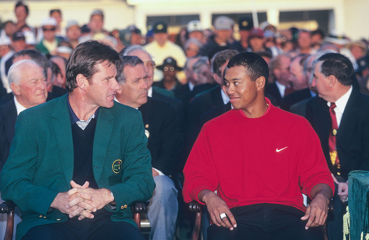 Tiger Woods is back at Augusta National searching for his sixth green jacket, but Nick Faldo thinks he won't be able to keep up with the field.