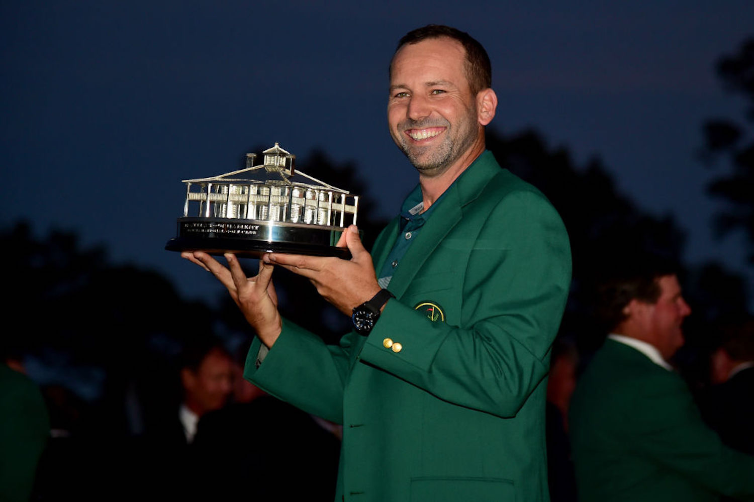 Sergio Garcia, who won The Masters in 2017, was forced to withdraw from the tournament this year after a positive COVID-19 test.