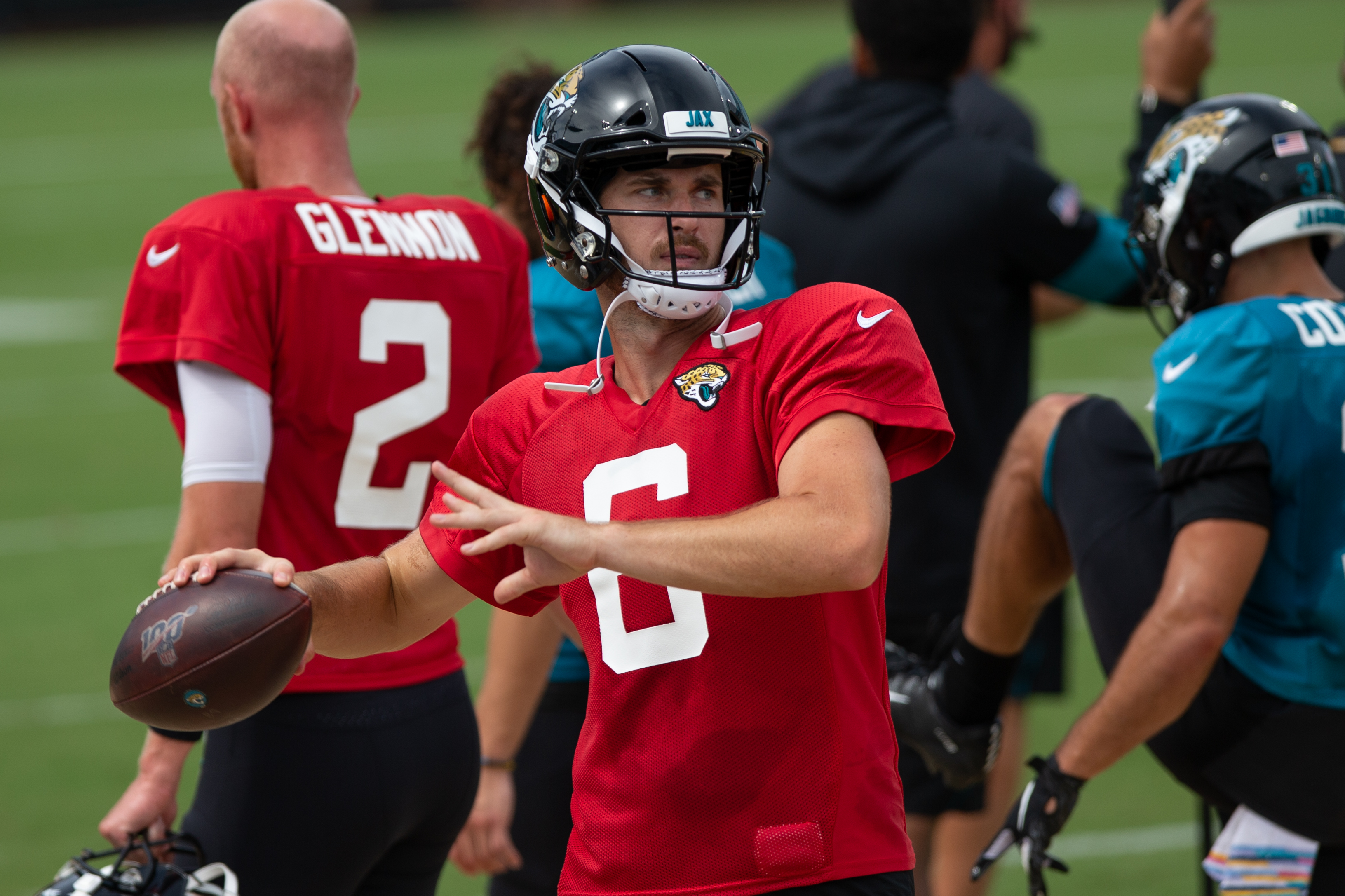 Jake Luton, a rookie quarterback from Oregon State, will make his NFL debut in Week 9 for the Jacksonville Jaguars. Here's what you need to know.
