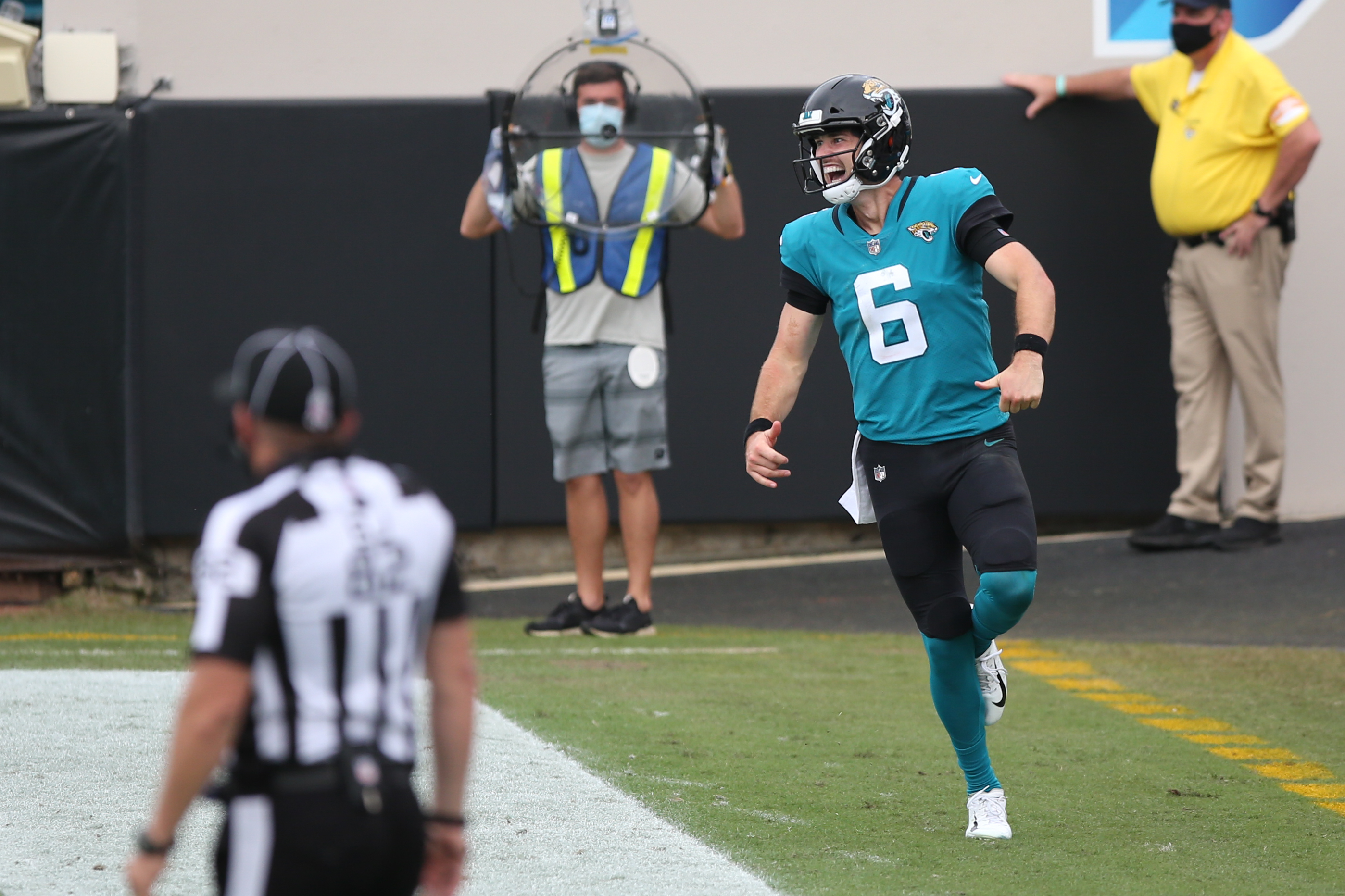 Jacksonville Jaguars quarterback Jake Luton isn't hiding his enthusiasm about facing Packers star Aaron Rodgers in Week 10. Can Luton pull off the upset?