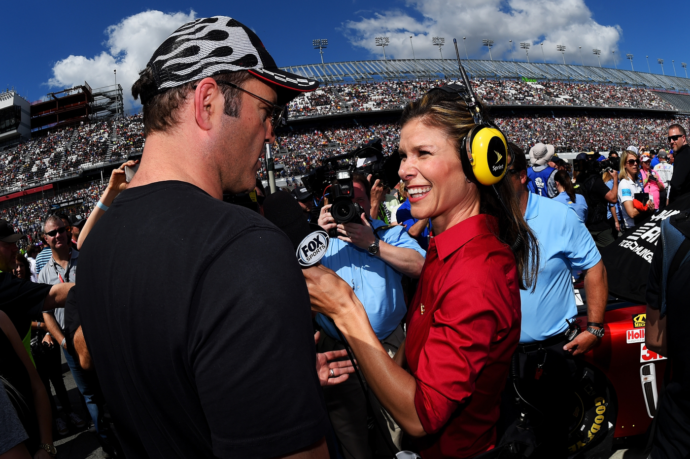 Jamie Little has already made history throughout her career covering NASCAR. She is continuing to do that even more so now with her new job.