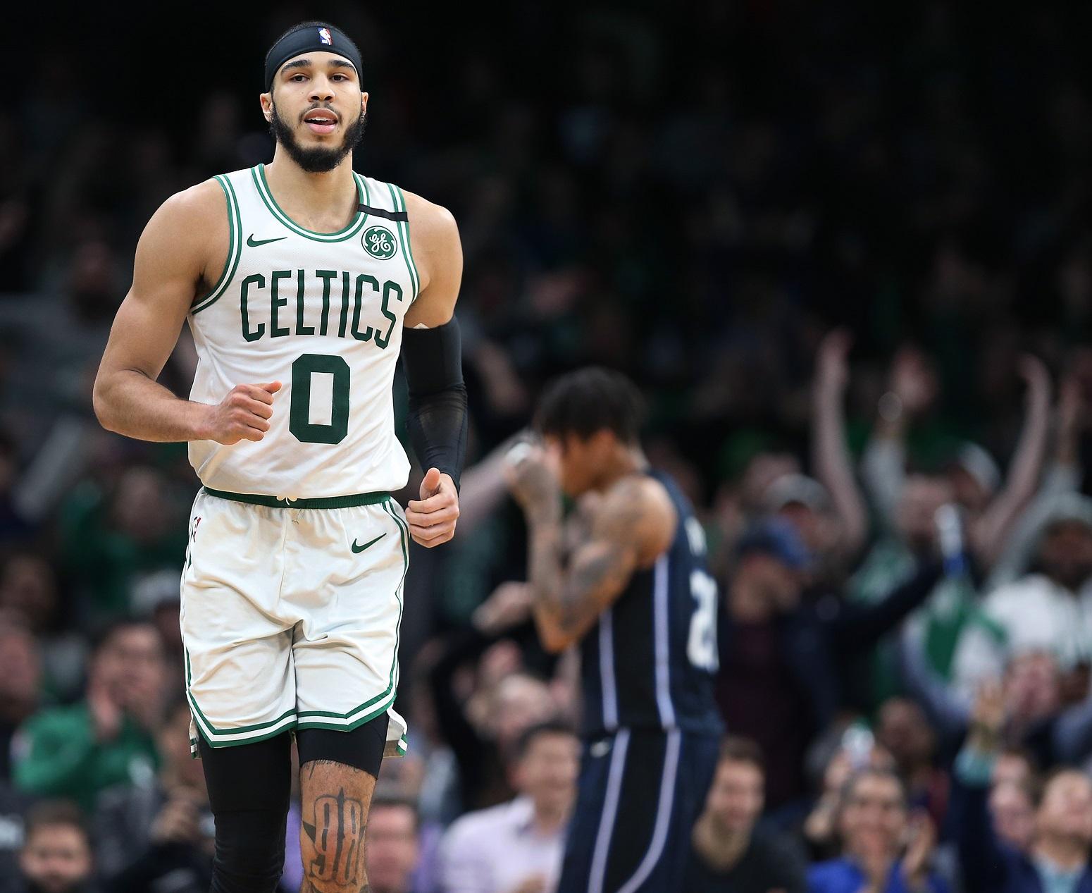 Jayson Tatum Boston Celtics historic commitment