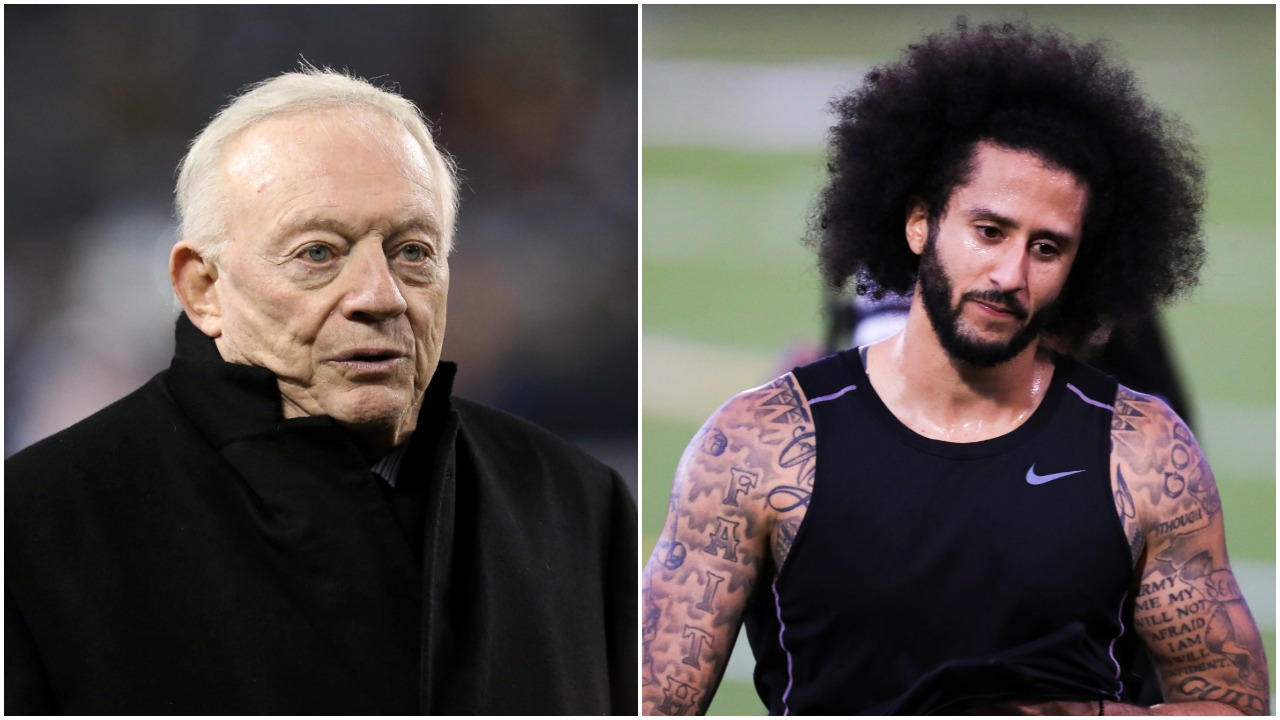 Jerry Jones Colin Kaepernick