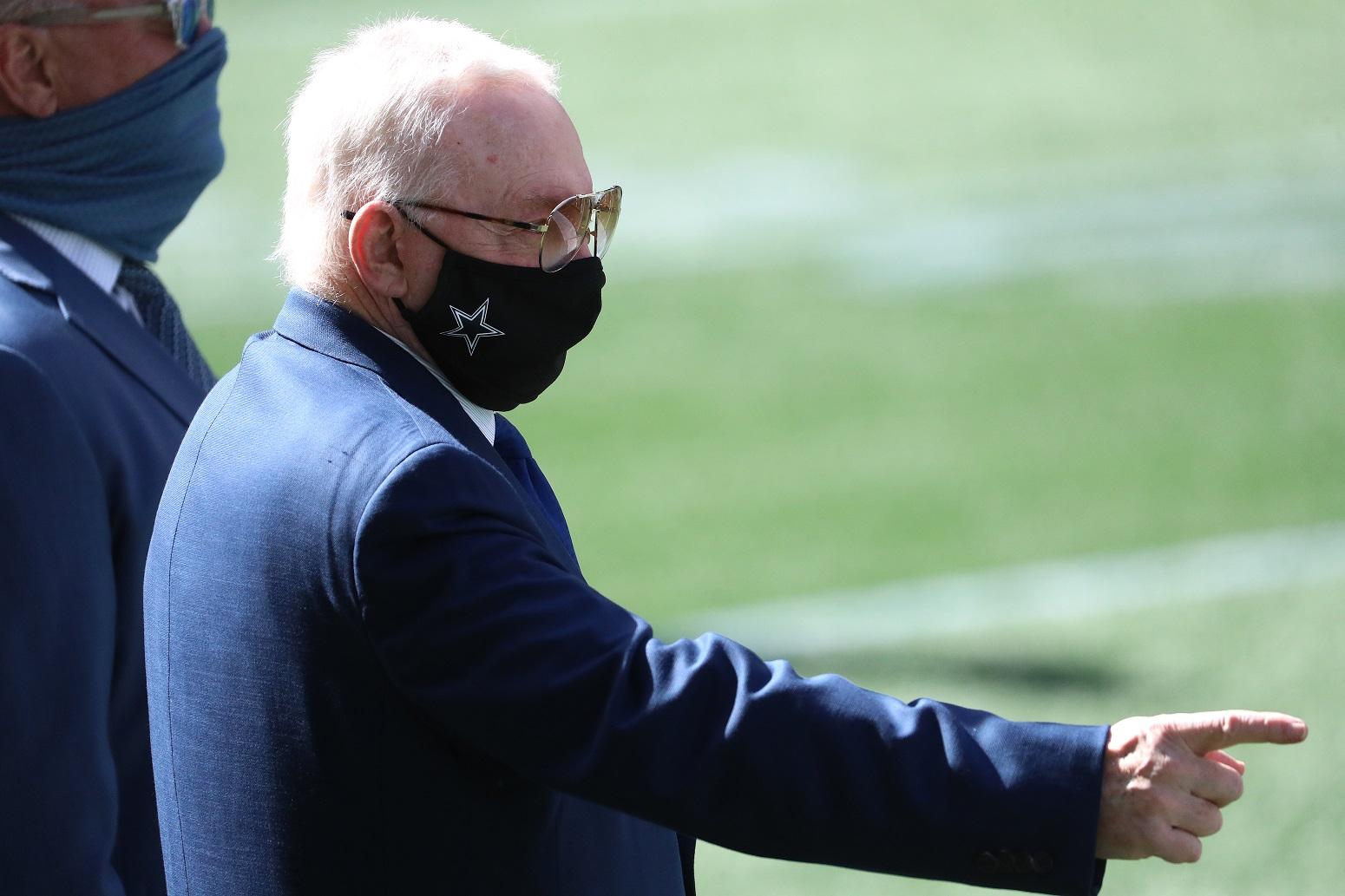 Jerry Jones Cowboys stance on tanking 2020 season