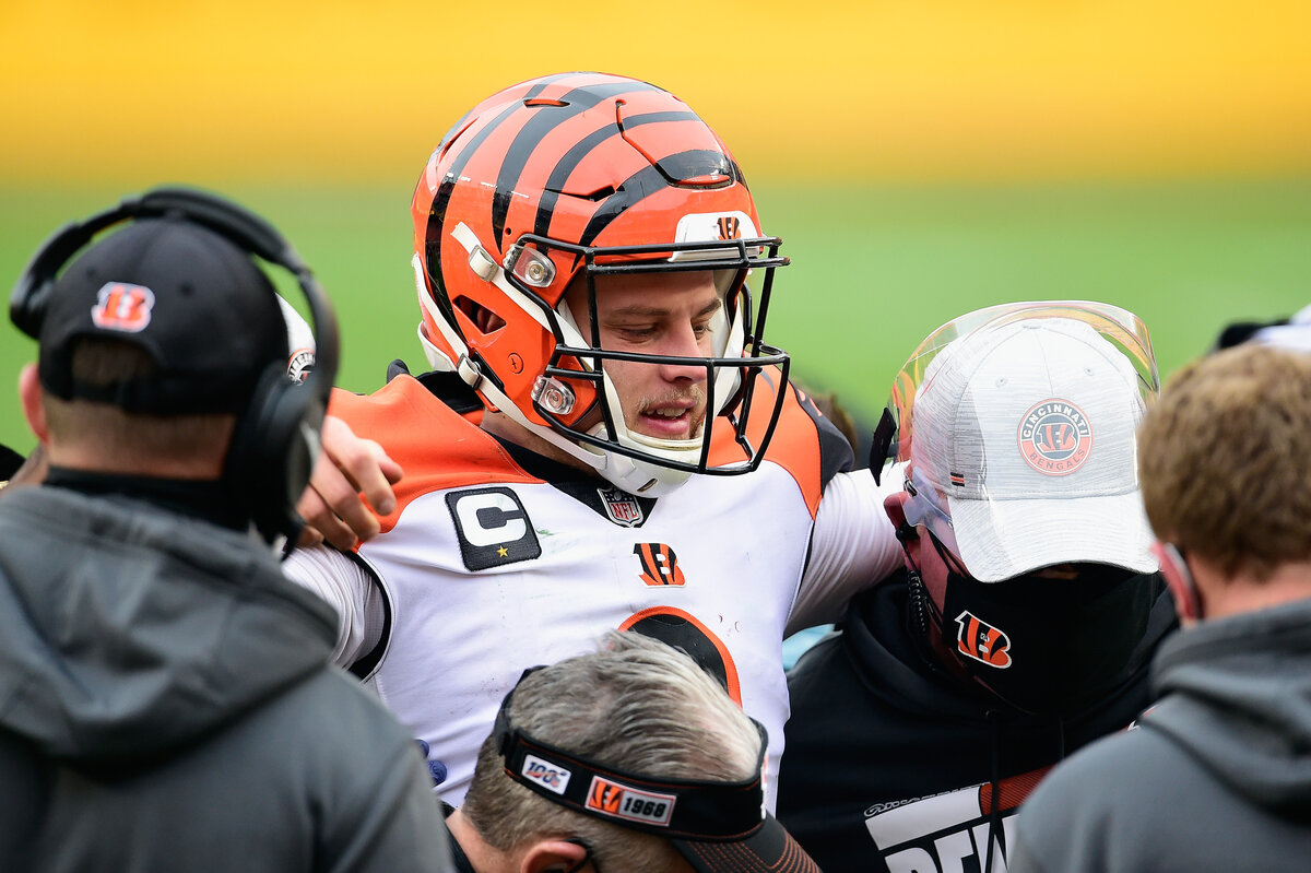 Cincinnati Bengals star quarterback Joe Burrow's stellar rookie season is over. Burrow isn't the first No. 1 overall pick who had a a season-ending injury.