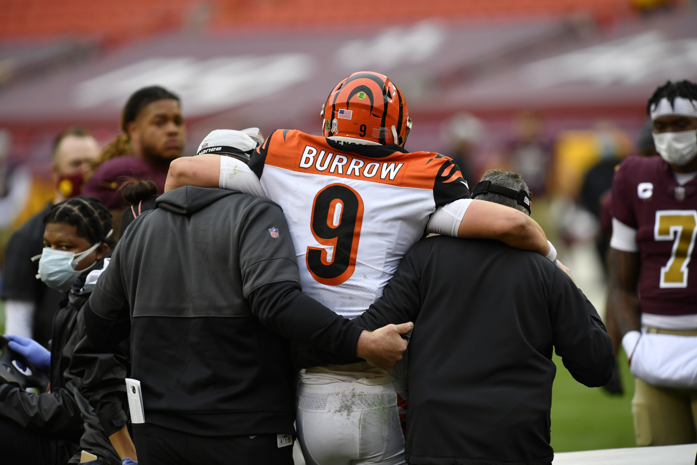 Joe Burrow's rookie year appears to be over after he recently suffered a brutal injury. He can blame it all on the Cincinnati Bengals, too.