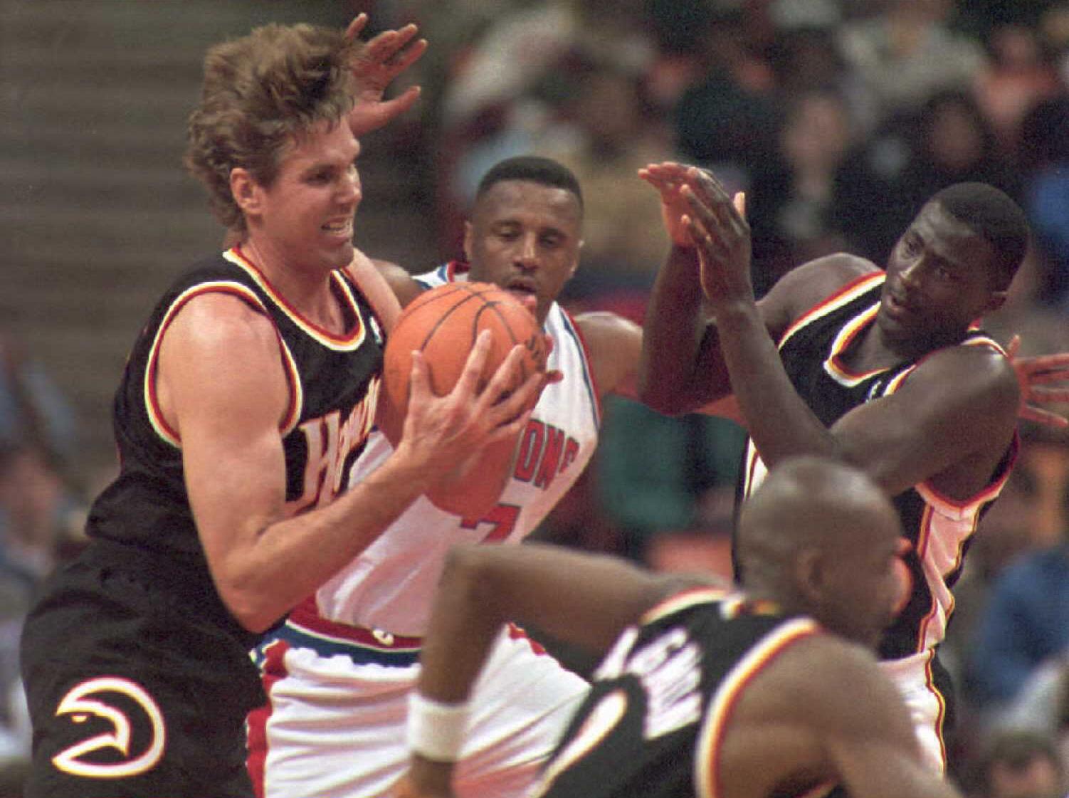 Jon Koncak Once Made More Money Than Michael Jordan and Larry Bird, Earning the Nickname 'Jon Contract'