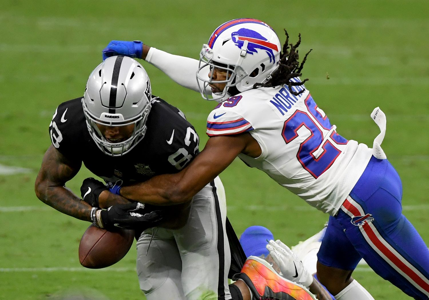 With cornerback Josh Norman testing positive for COVID-19, the Buffalo Bills will have a difficult time slowing down the Cardinals on Sunday.