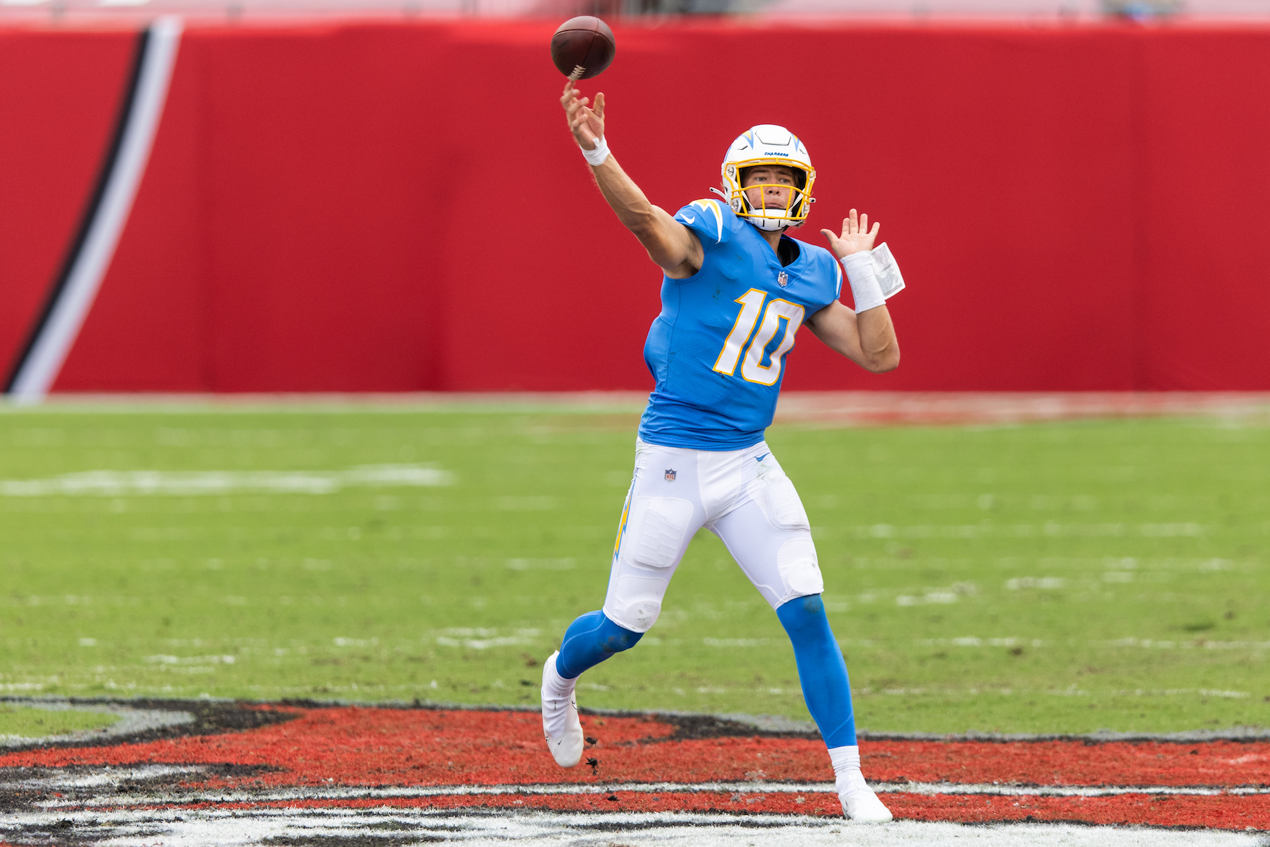 While Justin Herbert has only played a handful of games for the LA Chargers, he already looks like one of the best quarterbacks in franchise history.