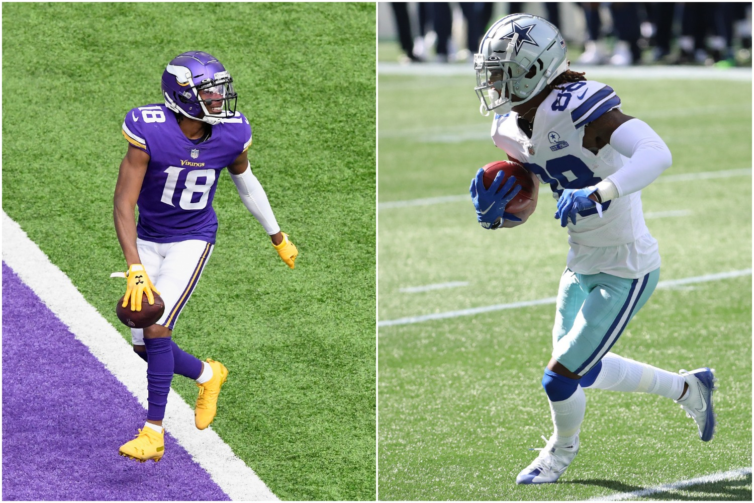CeeDee Lamb vs. Justin Jefferson — Who Is the Better Rookie Receiver?