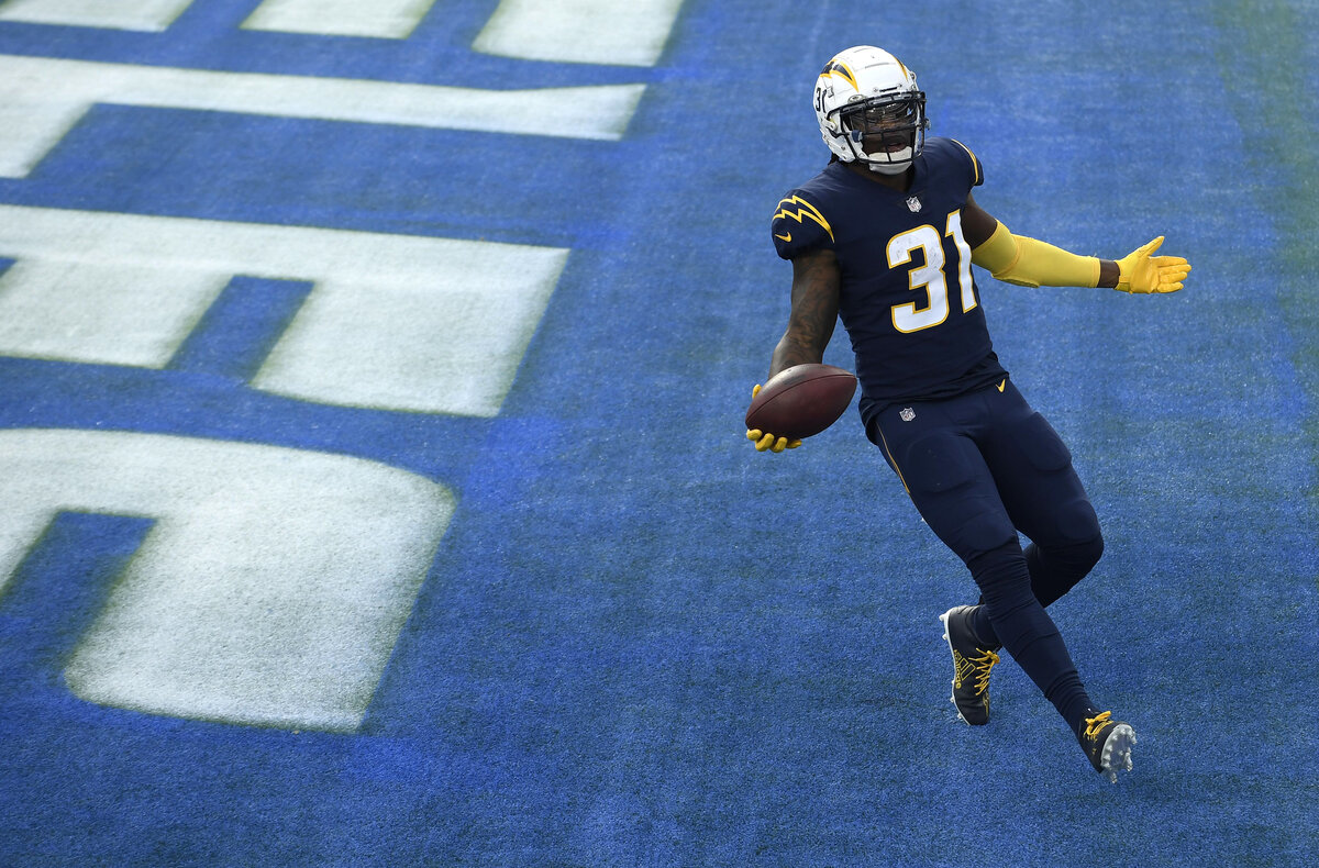 Running back Kalen Ballage had a horrific 2019 season with the Miami Dolphins. Ballage just broke out in a big way for the Los Angeles Chargers.