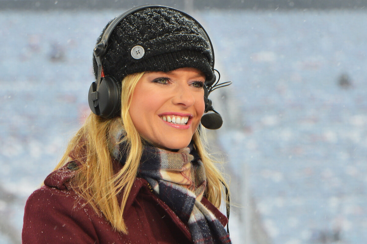 Kathryn Tappen is working on NBC's 'Sunday Night Football' coverage in Week 12. Here is everything you need to know about Tappen.