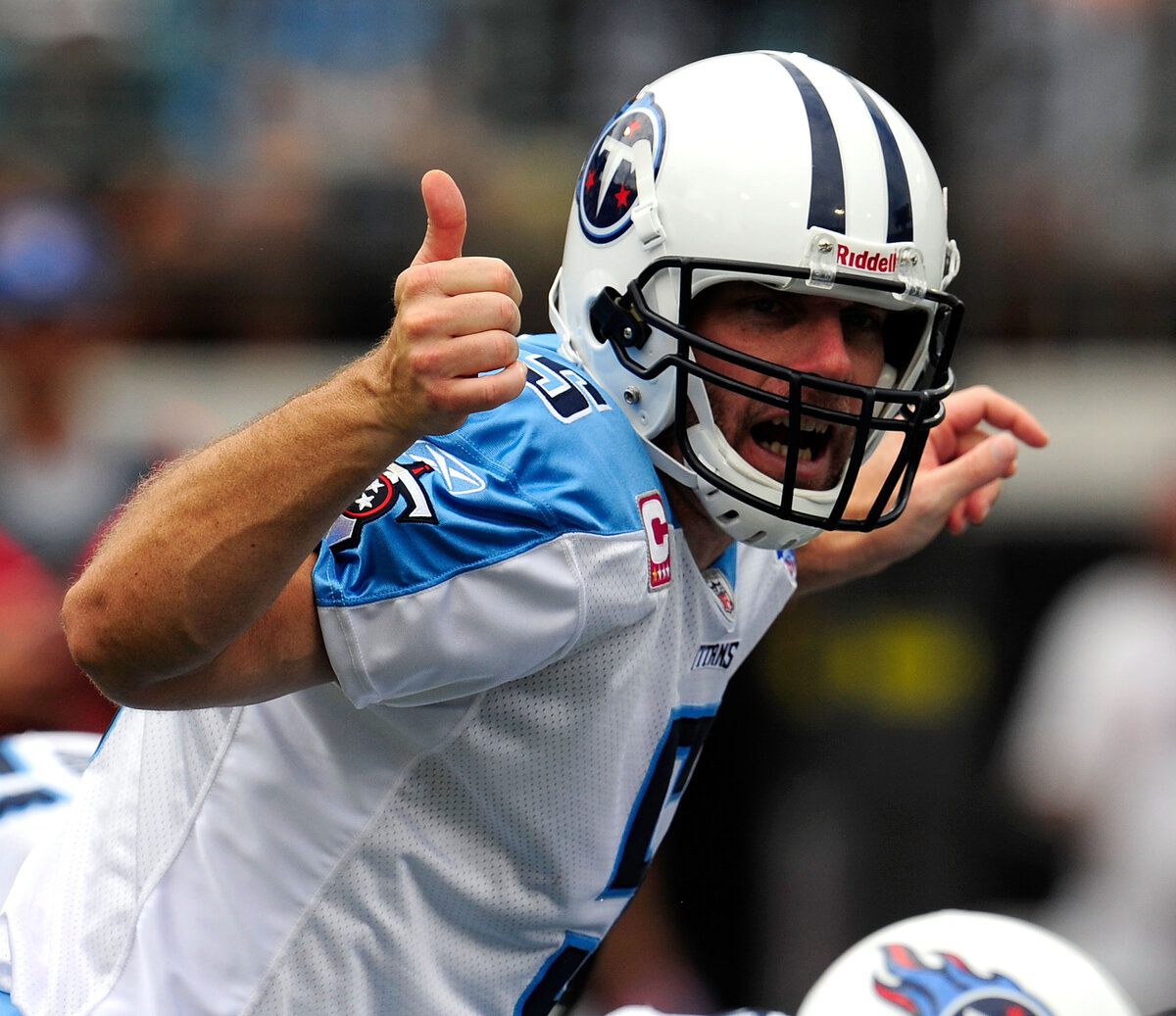 Kerry Collins impressed for several NFL teams, including the New York Giants and Tennessee Titans, in a long career. What is Collins doing now?