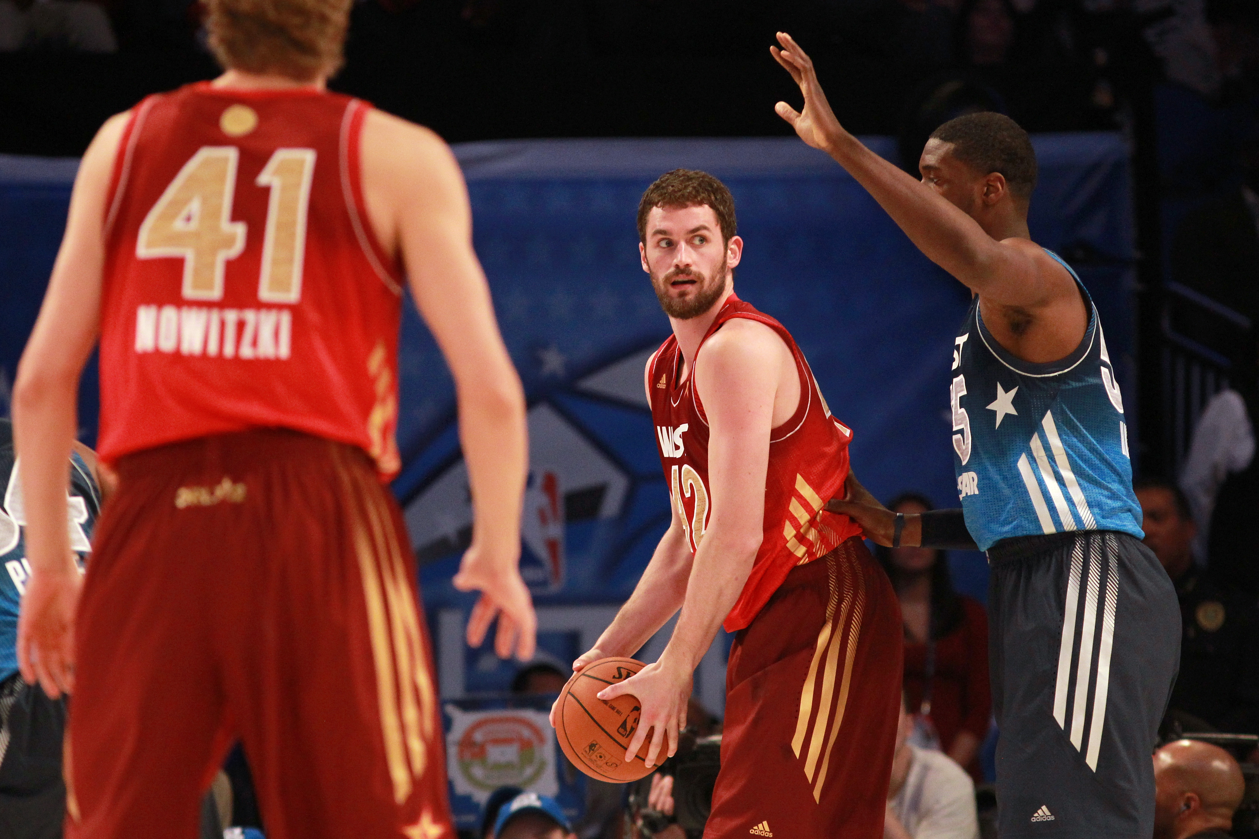Kevin Love in 2012 at the NBA All-Star Game