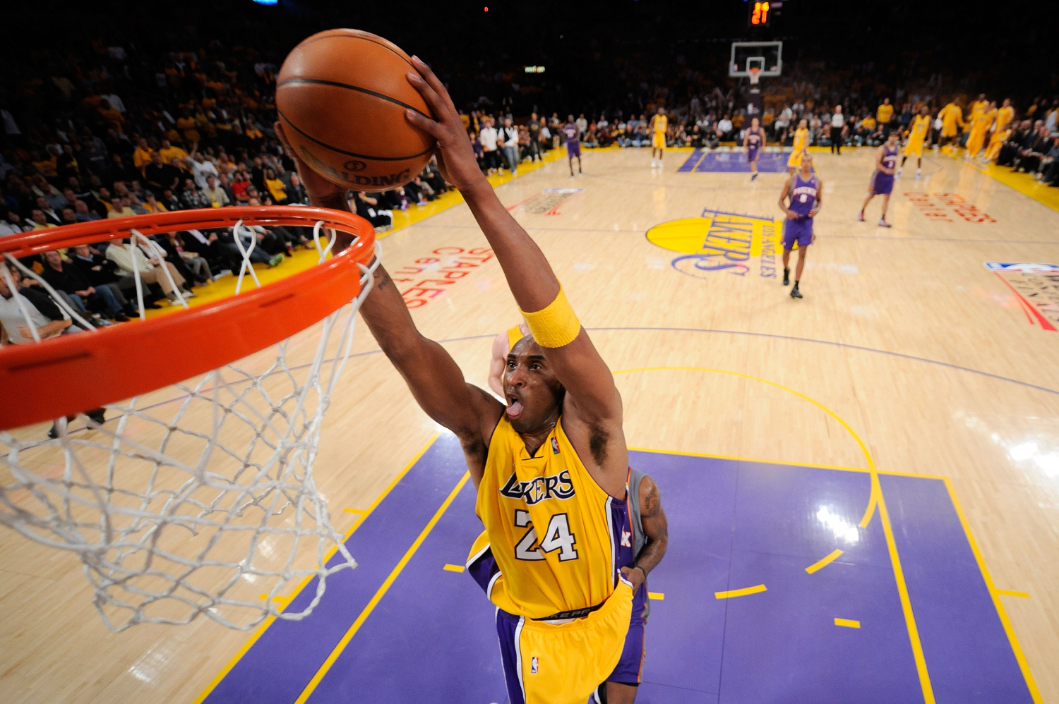 Kobe Bryant was an iconic basketball player for the LA Lakers. Since his tragic death, Bryant has actually continued to make millions.