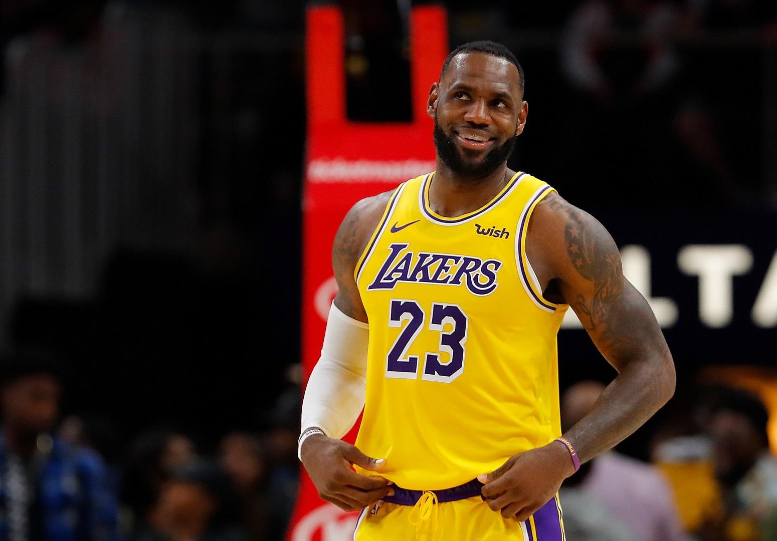 LeBron James Lakers game plan