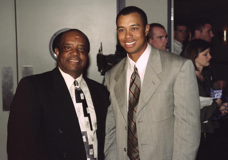Lee Elder Tiger Woods