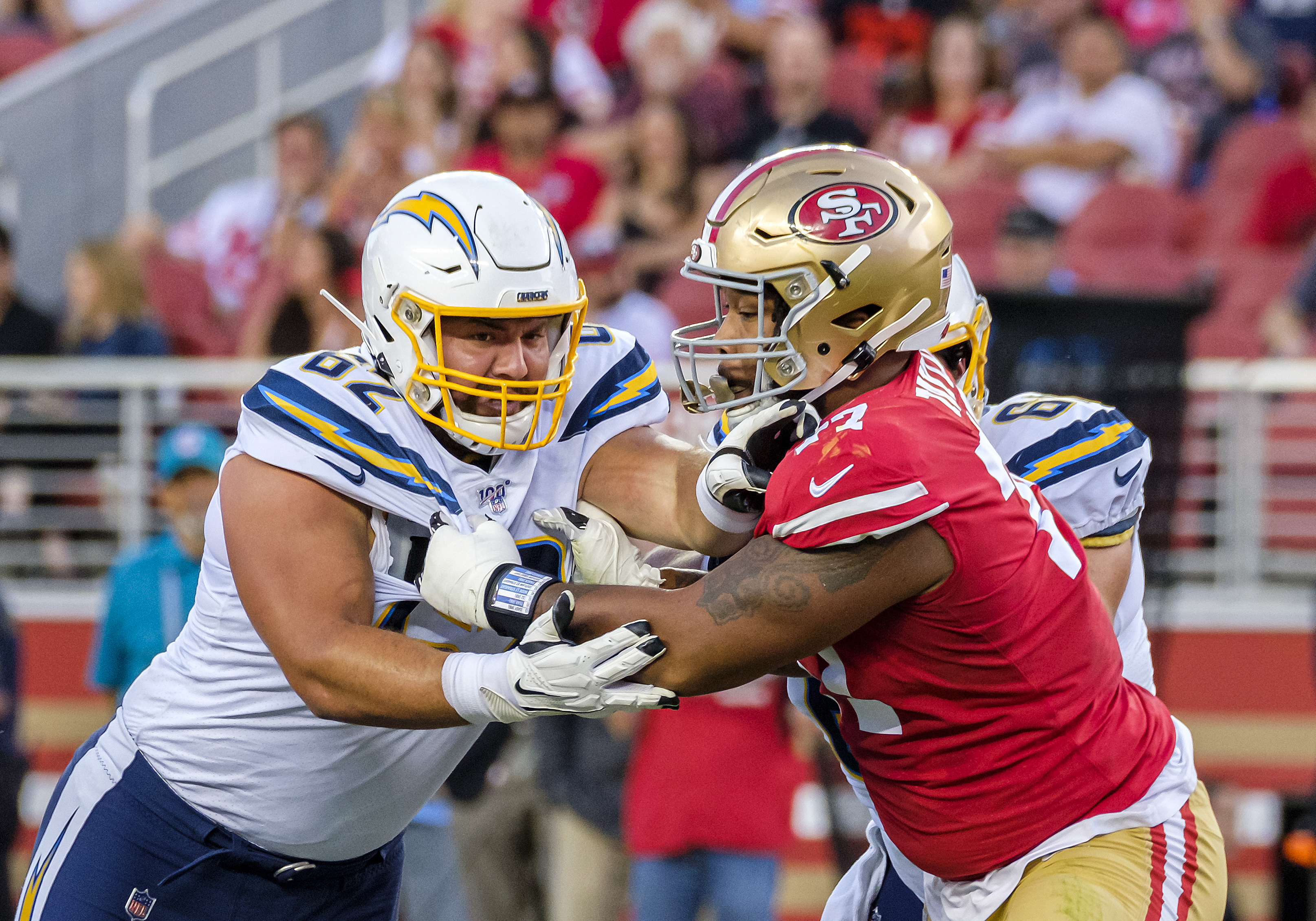 Chargers vs. 49ers