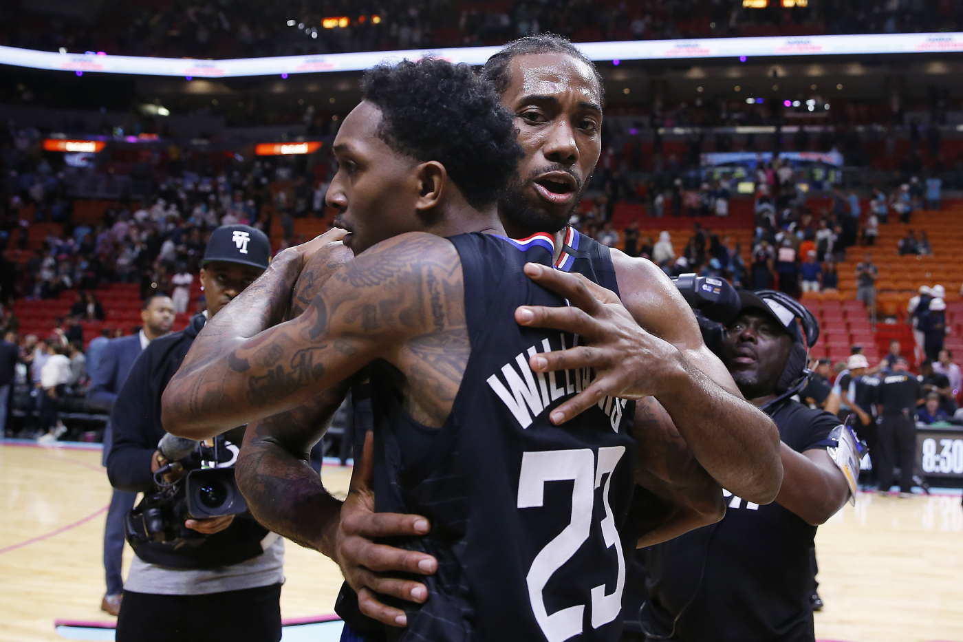 The LA Clippers have already lost Montrezl Harrell. Now, they could trade away their $8 million man, Lou Williams.The LA Clippers have already lost Montrezl Harrell. Now, they could trade away their $8 million man, Lou Williams.