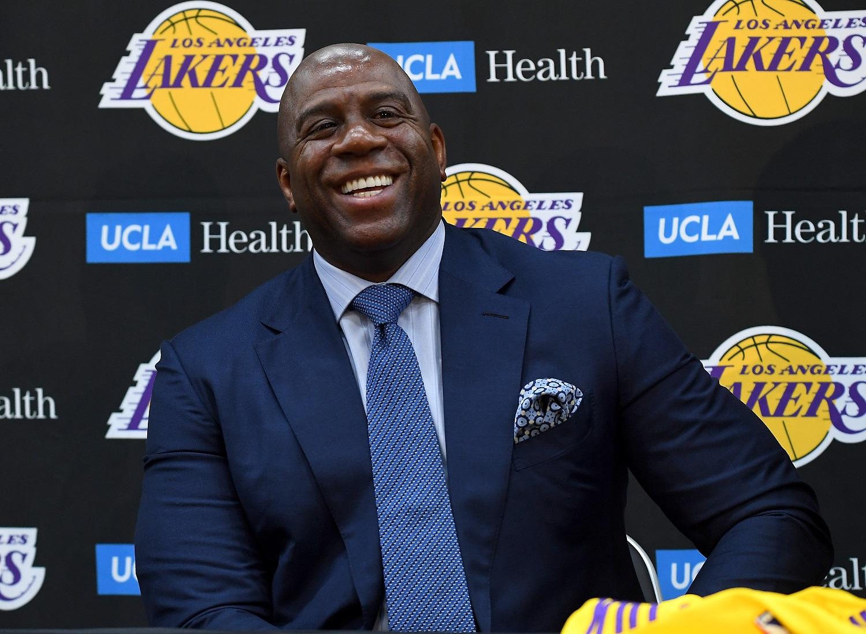 Magic Johnson NBA draft