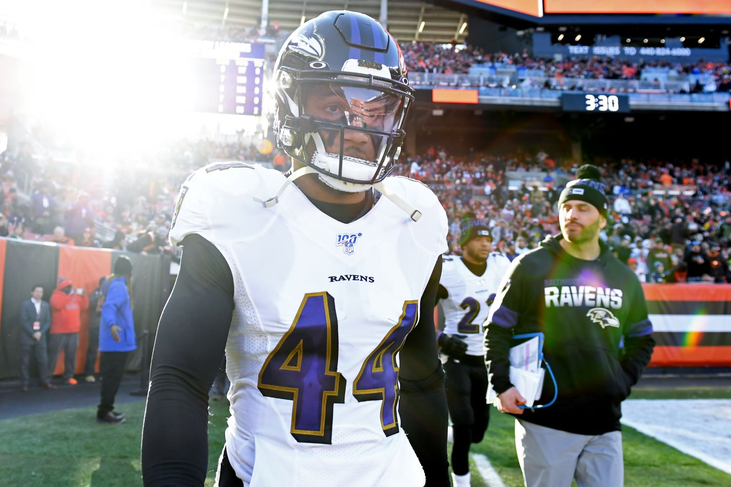 With Marlon Humphrey testing positive for COVID-19, the Baltimore Ravens may be without their $97 million star against the Colts.