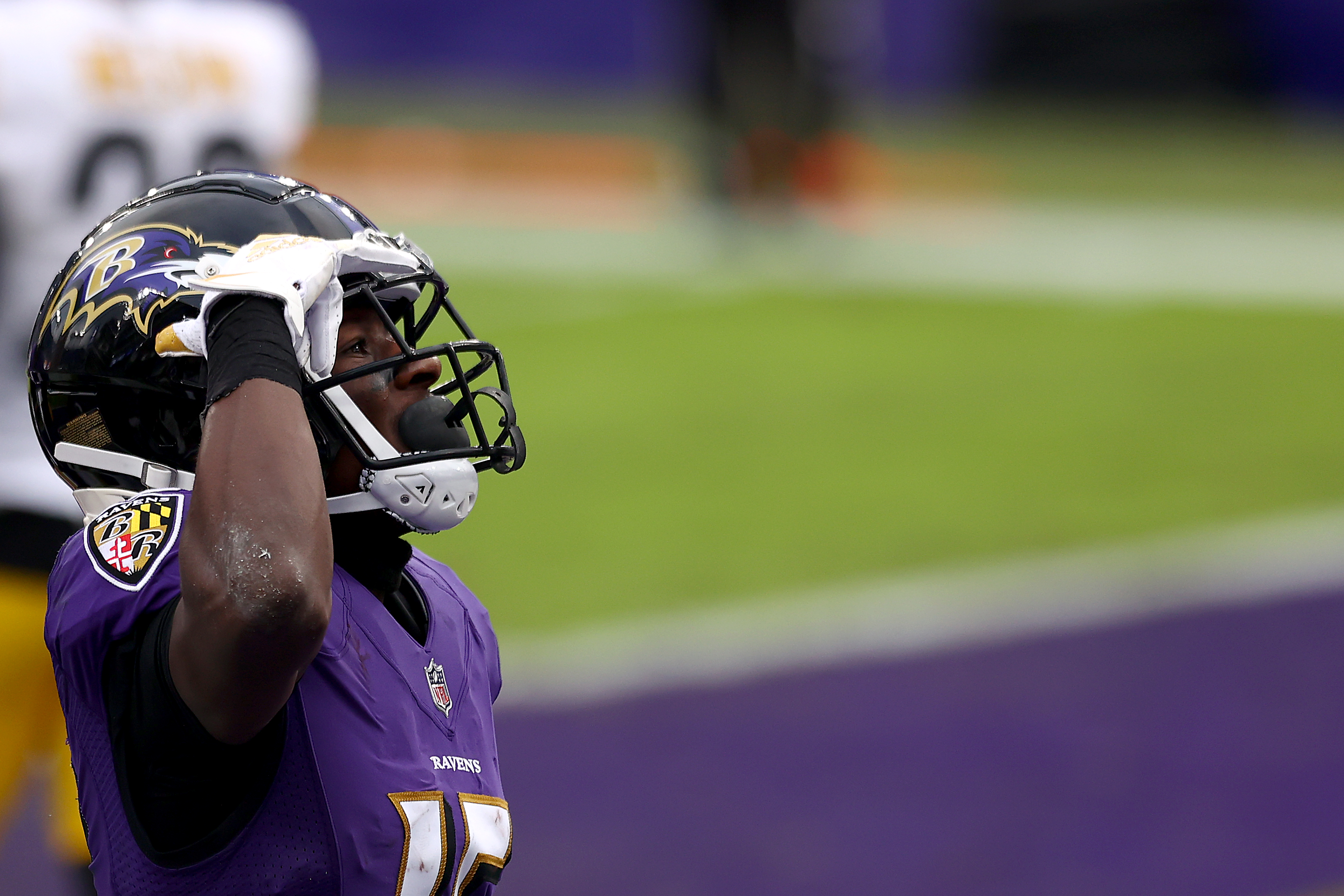 Baltimore Ravens receiver Marquise Brown's numbers are way down in 2020, and he shared his anger in a now-deleted tweet. Will the Ravens move on from Brown?