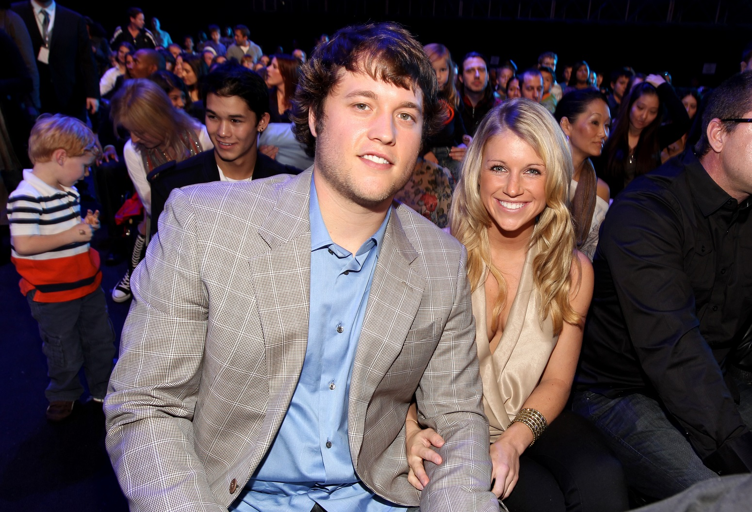 Matthew Stafford's wife controversial statement COVID-19
